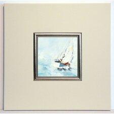Gerahmter Kunstdruck Force 7 - 40 x 40 cm
