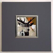 Gerahmter Kunstdruck Rotwild I - 40 x 40 cm