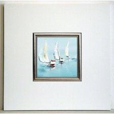 Gerahmter Kunstdruck Grand largue - 40 x 40 cm