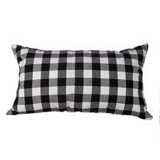Delano Décor Buffalo Check Cotton Lumbar Pillow
