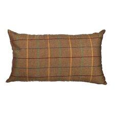 Delano Décor Windowpane Cotton Lumbar Pillow