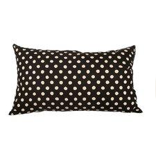Delano Décor Polka Dot Cotton Lumbar Pillow