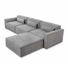 Mix Modular 4 Piece Sectional