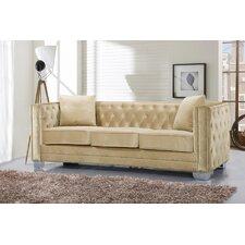 Reese Velvet Sofa