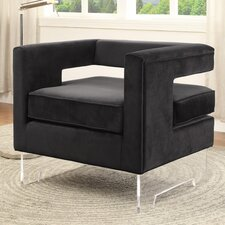 Carson Velvet Armchair