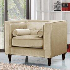 Taylor Velvet Armchair