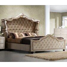 Diamond Upholstered Panel Bed