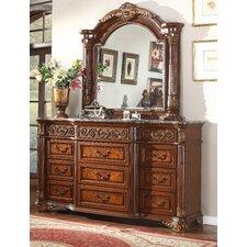Royal 9 Drawer Dresser with Mirror