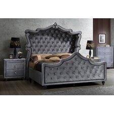 Hudson Upholstered Sleigh Bed