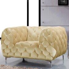 Mercer Velvet Armchair