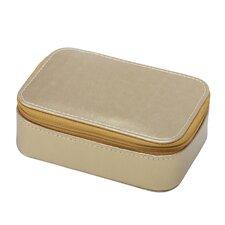 Gold Rectangular Jewelry Box