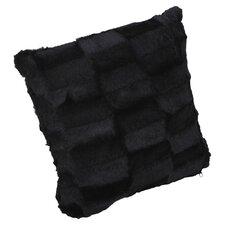 Roberto Amee Faux Fur Throw Pillow