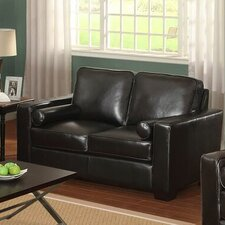 Siena Leather Loveseat