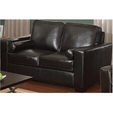 Siena Leather Loveseat