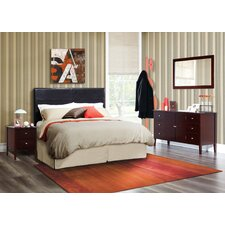 Zurich Panel 4 Piece Bedroom Set