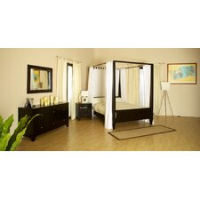 Signature Panel 4 Piece Bedroom Set