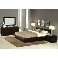 Zurich Platform 4 Piece Bedroom Set