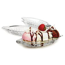 "Split 9.5"" Dessert Plate (Set of 4)"