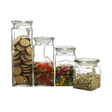 Yorkshire 4 Piece Canister Set