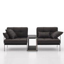 Catania 2 Piece Leather Sofa Set