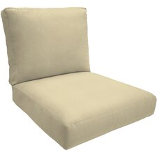 Knife-Edge Outdoor Sunbrella Deep Seating Cushion