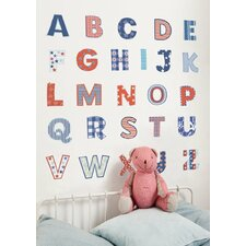 Uppercase Alphabet Wall Decal