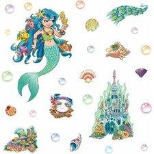 Mermaid Themed Wall Decal