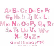 Nursery Alphabet Wall Decal