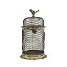 Decorative Vintage Metal Round Bird Cage