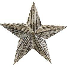 Vintage Medium Barn Wood Star Sculpture
