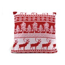 Christmas Deer Cushion Pillow Cover