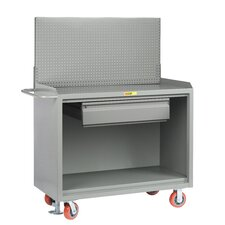 Mobile Service Steel Top Workbench