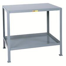 Multi-Shelf Machine Steel Top Workbench
