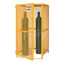 "70"" x 72"" x 38"" Gas Cylinder Storage Unit"