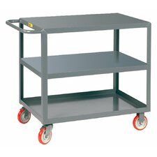 """29.5"""" 3 Shelf Welded Utility Cart"""