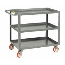 """39.5"""" 3-Shelf Welded Utility Cart"""