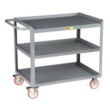 "53.5"" 3-Shelf Mobile Utility Cart"