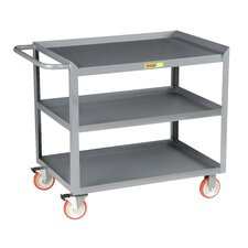 "41.5"" 3-Shelf Mobile Utility Cart"