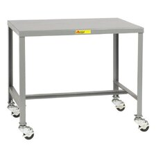 Mobile Steel Top Workbench