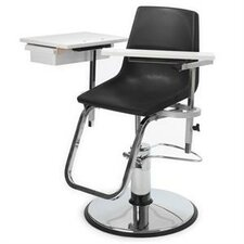 Hydraulically Adjustable Blood Drawing Chair with Drawer