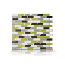 6-tlg. 23,11 cm x 25,91 cm Wandfliese Murano Verde