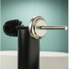 Acero Free Standing Toilet Brush Holder