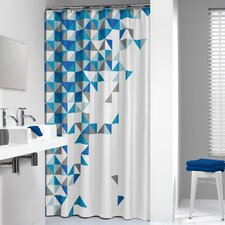 Tangram Shower Curtain