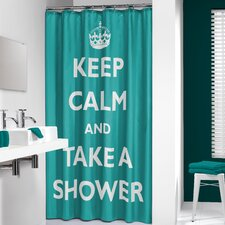 Testo Shower Curtain