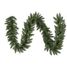 Pre-Lit Eastern Pine Artificial Christmas Garland