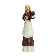 Autumn Pilgrim Thanksgiving Figurine