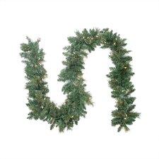 Pre-lit Cashmere Mixed Pine Artificial Garland