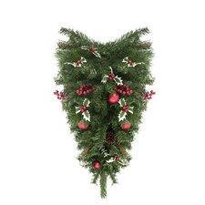 Pre-Decorated Artificial Christmas Teardrop Swag