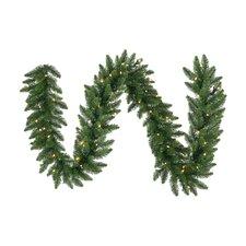 Pre-Lit Northern Dunhill Fir Artificial Christmas Garland