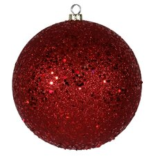 Shatterproof Holographic Glitter Ball Christmas Ornament